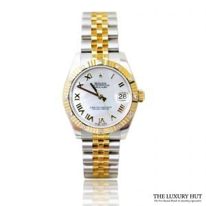Rolex Datejust 178313 White Mop Dial - 2017 Full Set Unworn - Order Online Today For Next Day Delivery