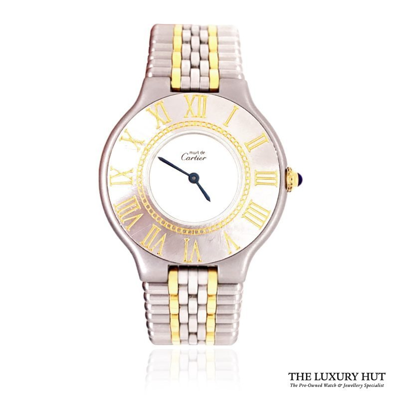 Cartier 21 Must De 28mm Watch Ref:1340 - Order Online Today For Next Day Delivery