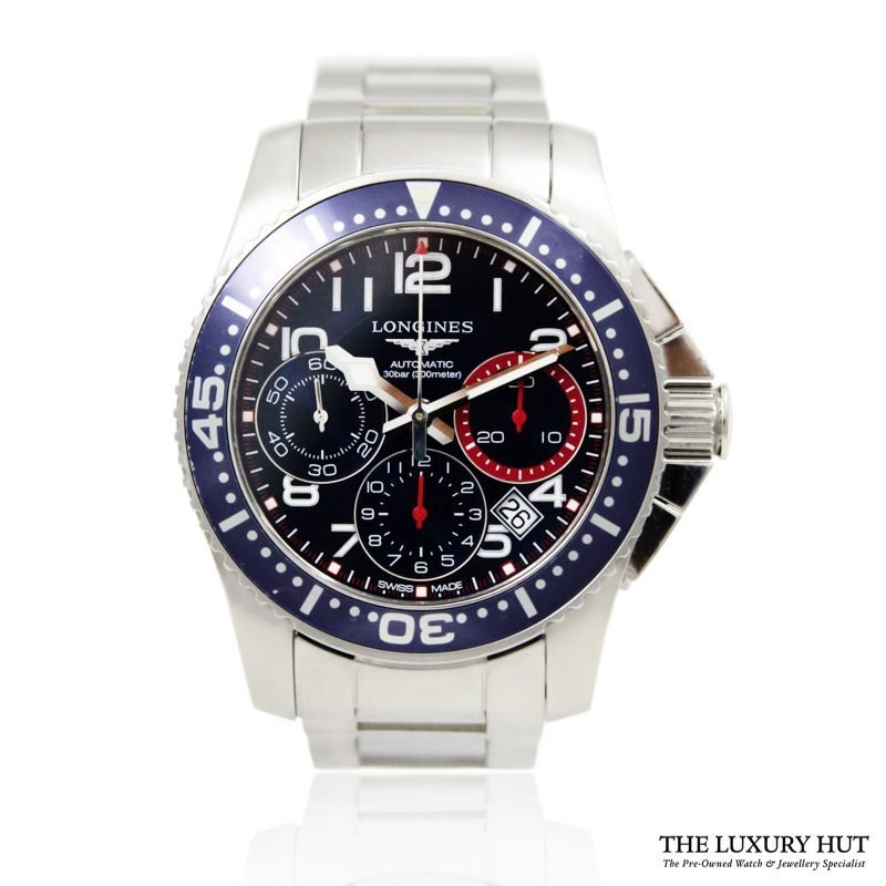 Longines Hydro Conquest Watch Ref L3.696.4.03.6 Order Online today for next day delivery