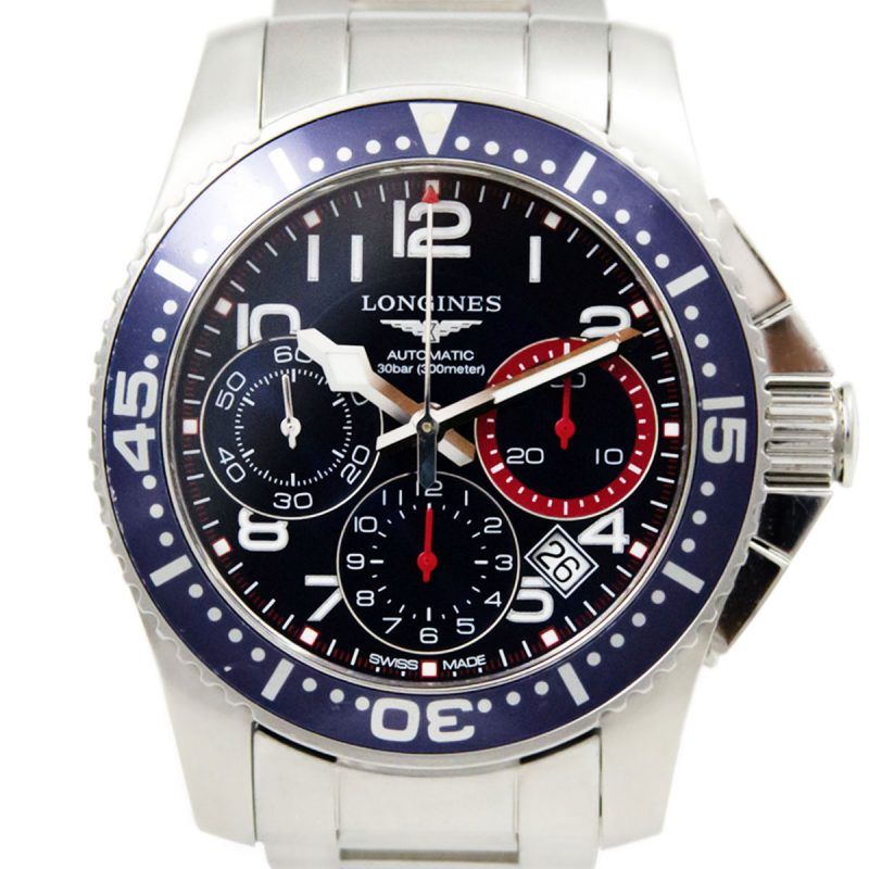 Longines Hydro Conquest Watch Ref L3.696.4.03.6 Order Online today
