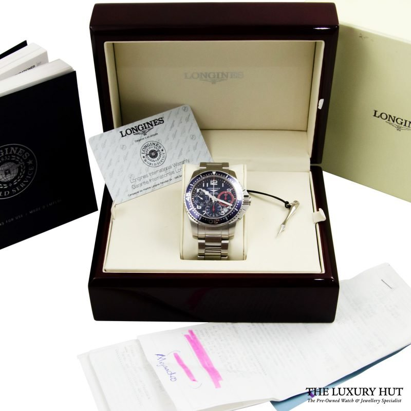 Longines Hydro Conquest Watch Ref L3.696.4.03.6 Order Online today delivery