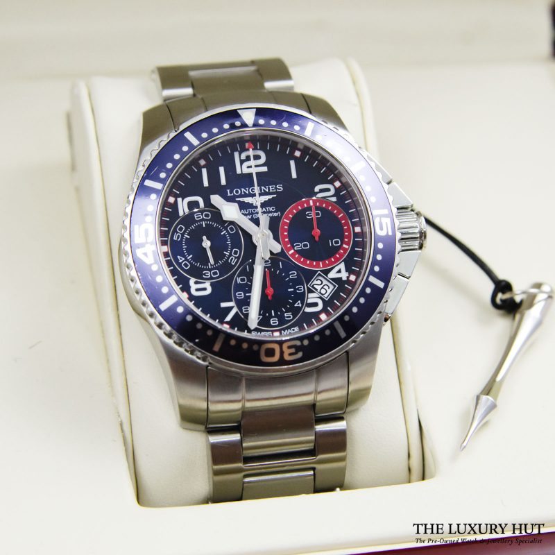Longines Hydro Conquest Watch Ref L3.696.4.03.6 Order Online