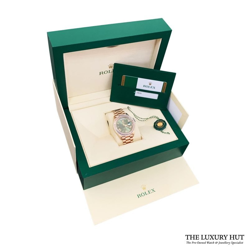 Rolex Day-Date Anniversary Edition Ref: 228235 - 2019 Order Online Today Delivery