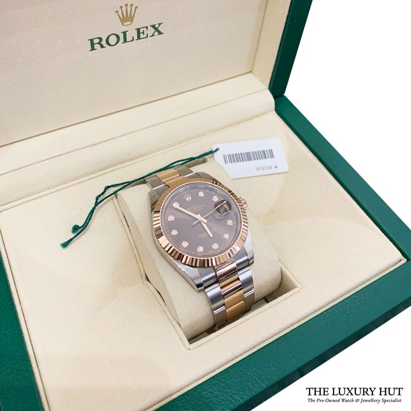 Rolex Bi-Metal Datejust 41mm Watch Ref: 126331