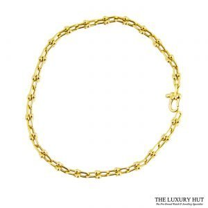 Tiffany 18ct Yellow Gold Link Bracelet - Order Online Today For Next Day Delivery