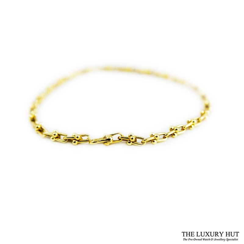 Tiffany 18ct Yellow Gold Link Bracelet - Order Online Today For Next Day