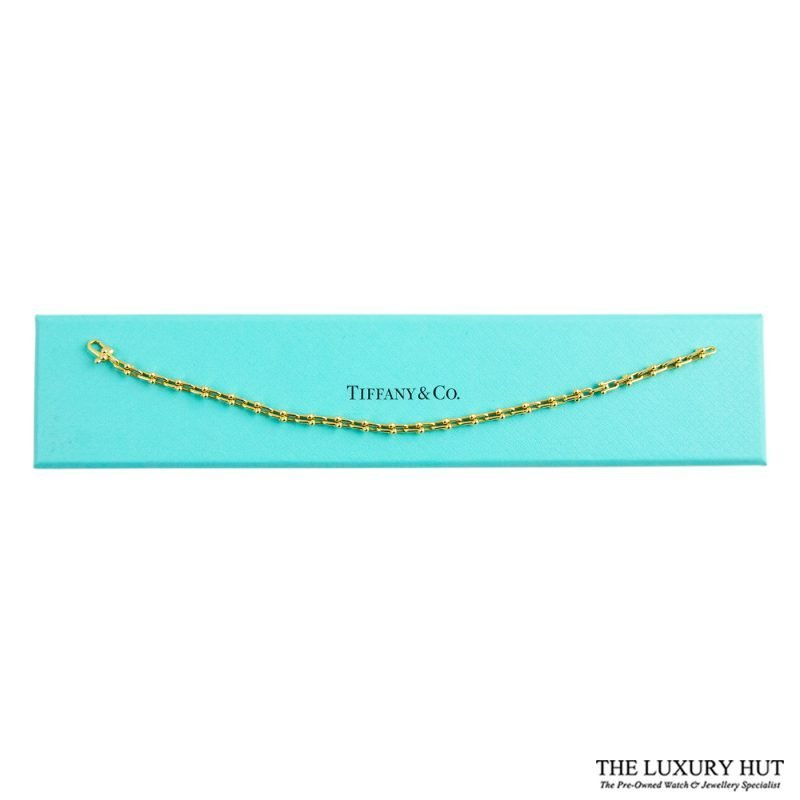 Tiffany 18ct Yellow Gold Link Bracelet - Order Online Today Delivery