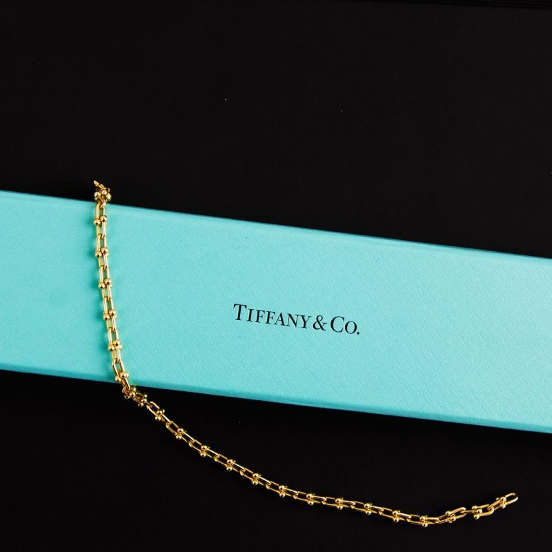 Tiffany 18ct Yellow Gold Link Bracelet - Order