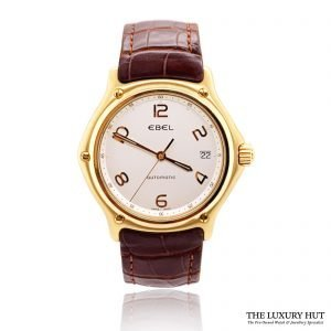 Ebel 1911 18ct Yellow Gold Watch Ref : E8080241 - Order Online today for next day delivery
