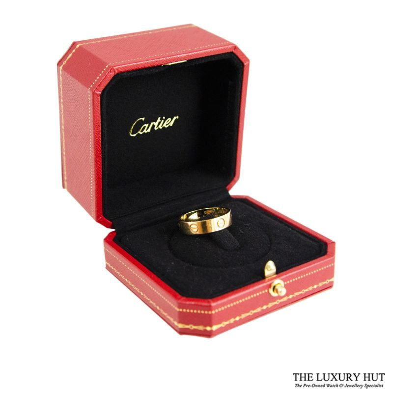 Shop Cartier 18ct Gold Love Ring