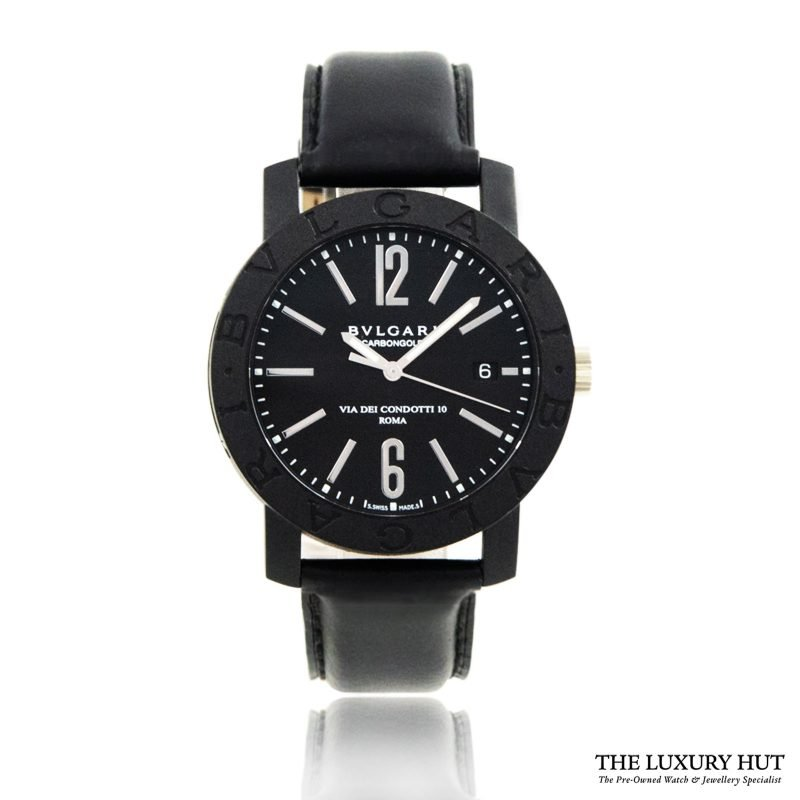 Bulgari Carbon Gold Condotti Watch Ref: BB 40CL Order Online Today For Next Day Delivery