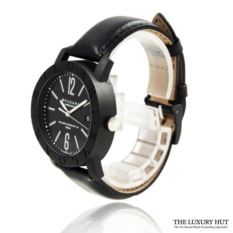 Bulgari Carbon Gold Condotti Watch Ref: BB 40CL Order Online Today For Next Day