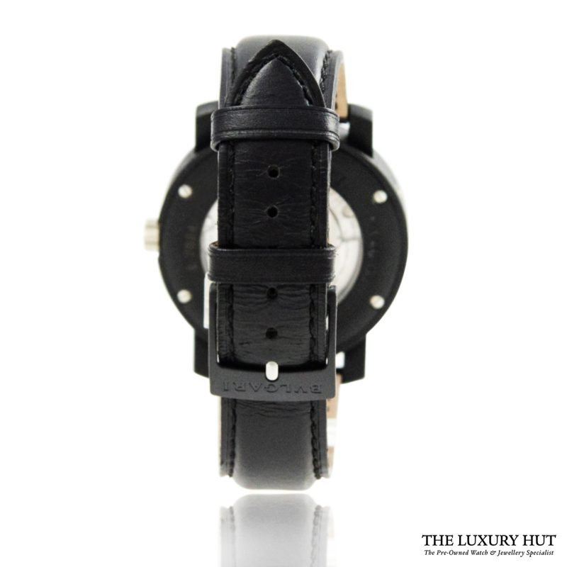 Bulgari Carbon Gold Condotti Watch Ref: BB 40CL Order Online Today