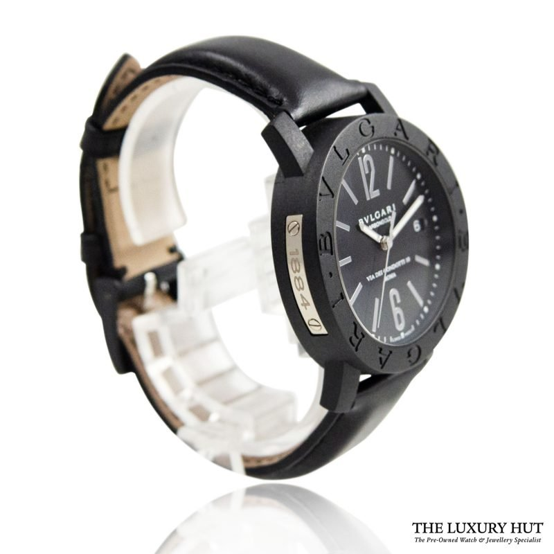 Bulgari Carbon Gold Condotti Watch Ref: BB 40CL Order Online