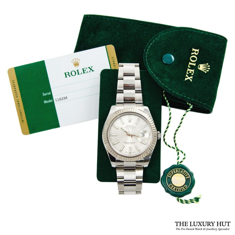 Rolex Datejust Gold Fluted Oyster Ref: 126334 - 2015 Order Online Today