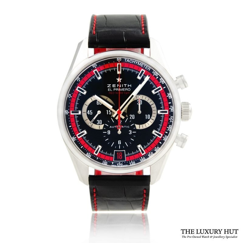 Zenith EL PRIMERO Ref: 03.2043.400/25.C703 Order Online Today For Next Day Delivery