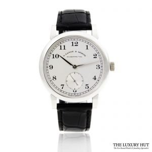A. Lange & Sohne Platinum Watch Ref: 233.025 Order Online Today For Next Day Delivery