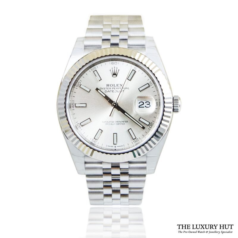 Rolex Datejust 41mm Gold Fluted Jubilee Ref: 126334 - Order Online Today For Next Day Delivery