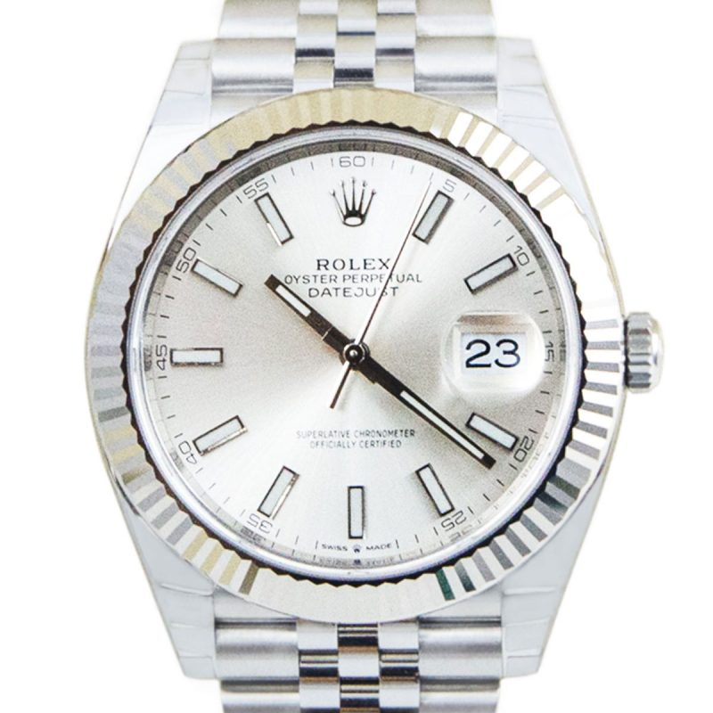 Rolex Datejust 41mm Gold Fluted Jubilee Ref: 126334 - Order Online