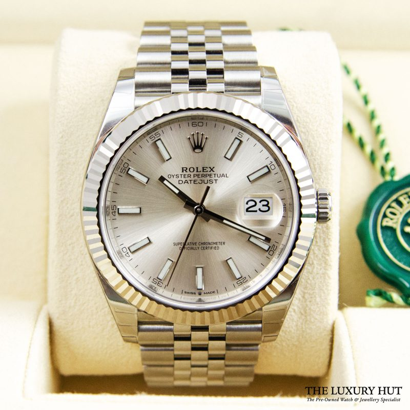 Rolex Datejust 41mm Gold Fluted Jubilee Ref: 126334