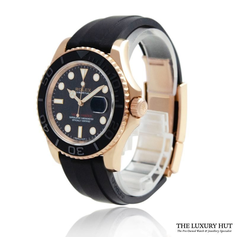 Rolex Yacht-Master Everose Gold Ref: 116655 - 2016 Order Online Today For Next Day