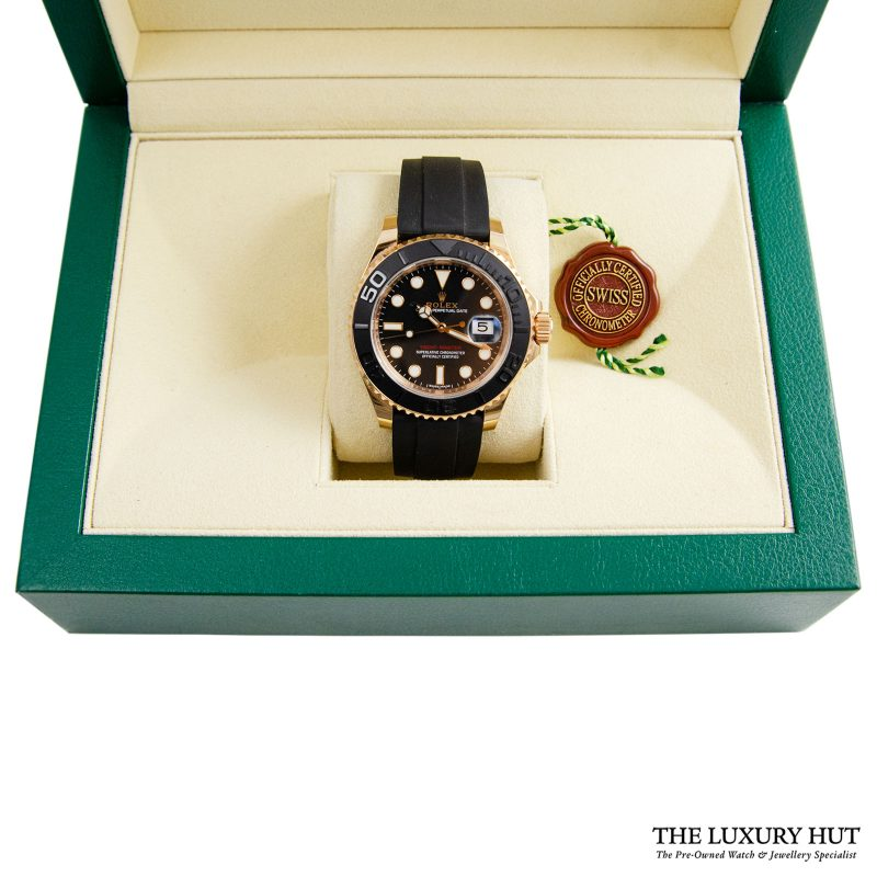 Rolex Yacht-Master Everose Gold Ref: 116655 - 2016 Order Online Today Delivery