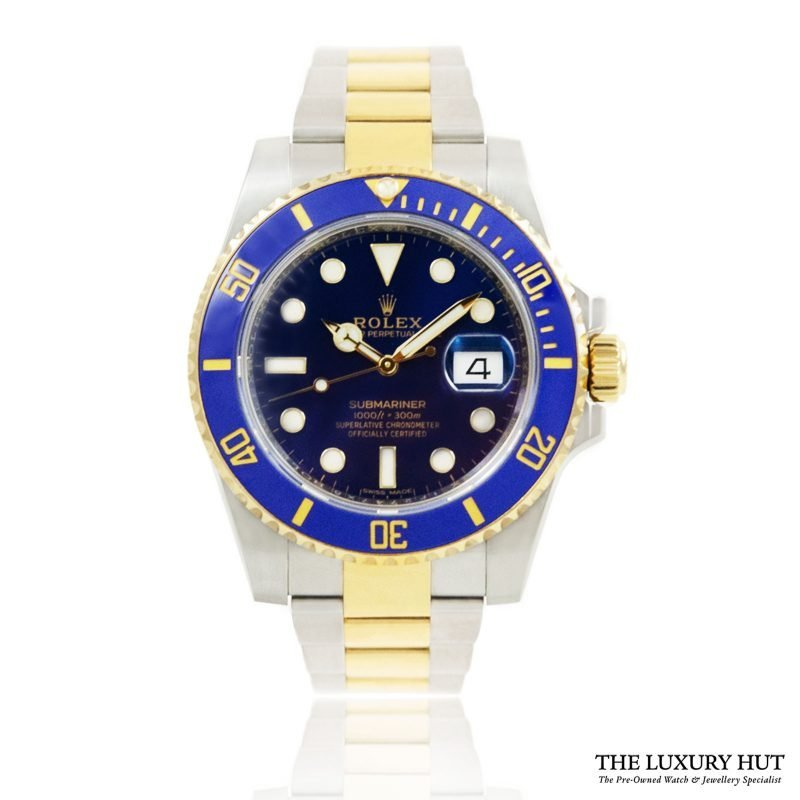 Rolex Submariner 40mm Blue Watch Ref: 116613LB - Order Online today for next day delivery