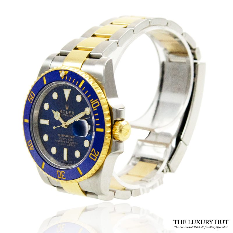 Rolex Submariner 40mm Blue Watch Ref: 116613LB - Order Online today for next day