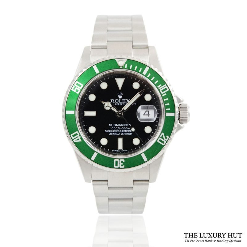 Rolex Kermit Submariner Oyster Date Ref 16610LV Watch - Order Online today for next day delivery.