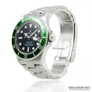 Rolex Kermit Submariner Oyster Date Ref 16610LV Watch - Order Online today