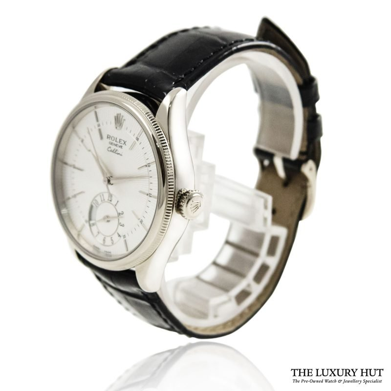 Rolex Cellini Dual Time 39mm Watch Ref: 50529 Order Online today