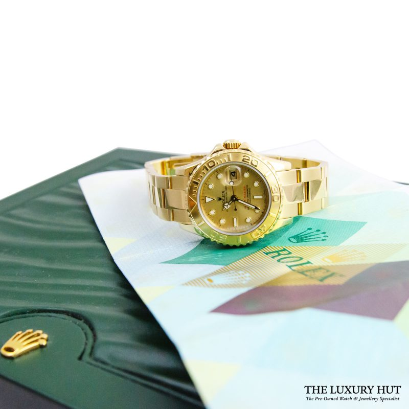 Rolex Yacht-Master Ladies Watch Ref: 169628 Order Online today for next day delivery.