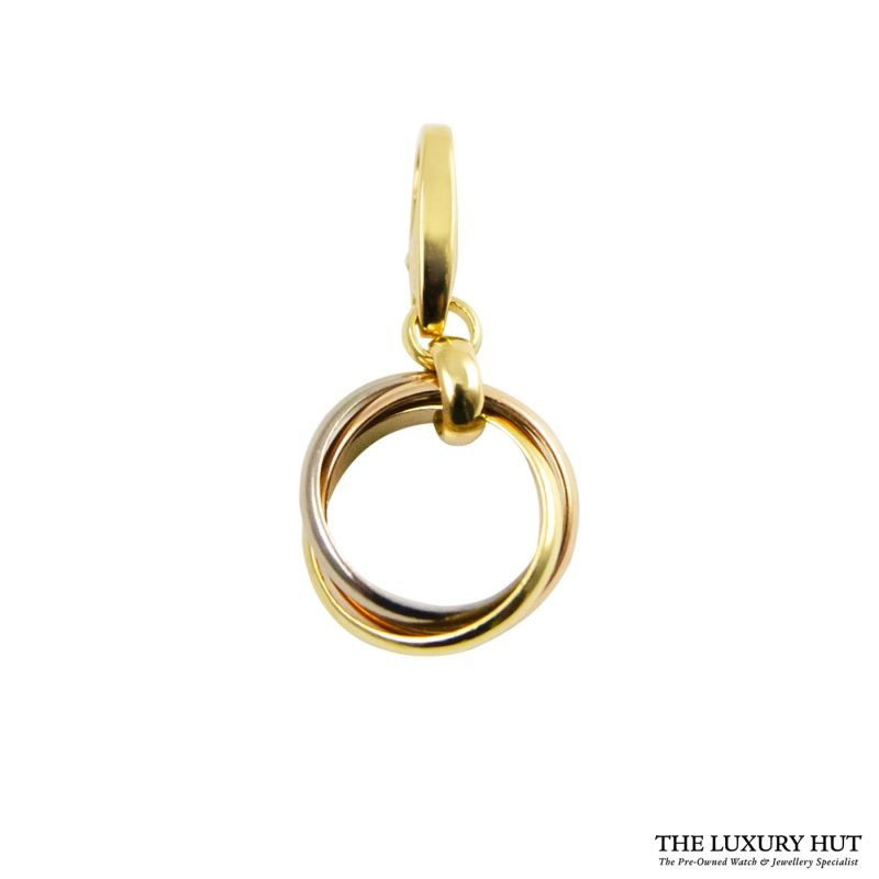 Shop Cartier 18ct Gold Trinity Charm Pendant order online today for next day delivery