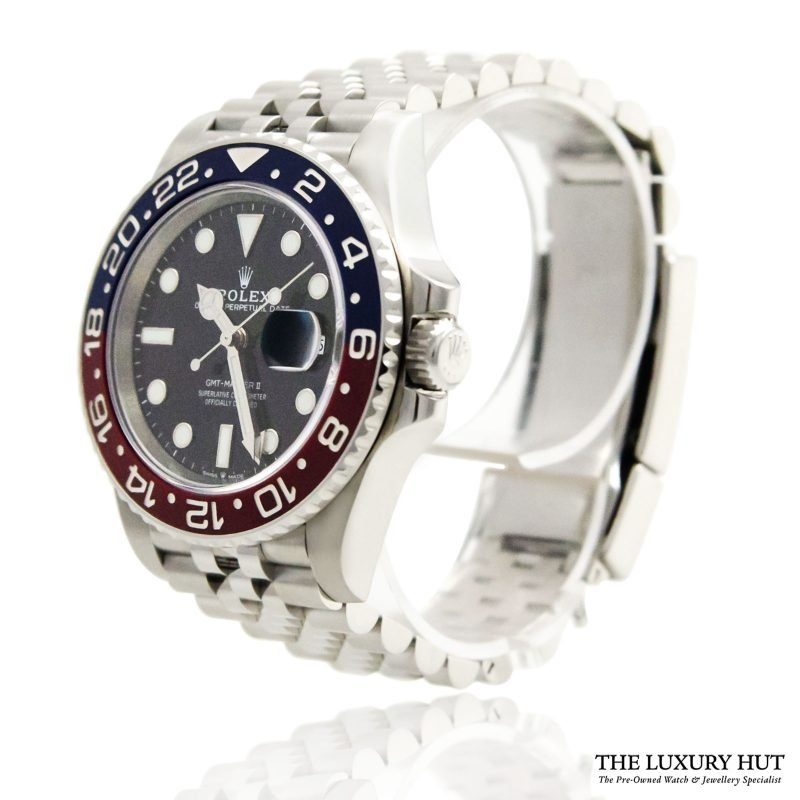 Rolex GMT Master 2 Pepsi Perpetual Ref: 12671BLRO - Order Online today for next day