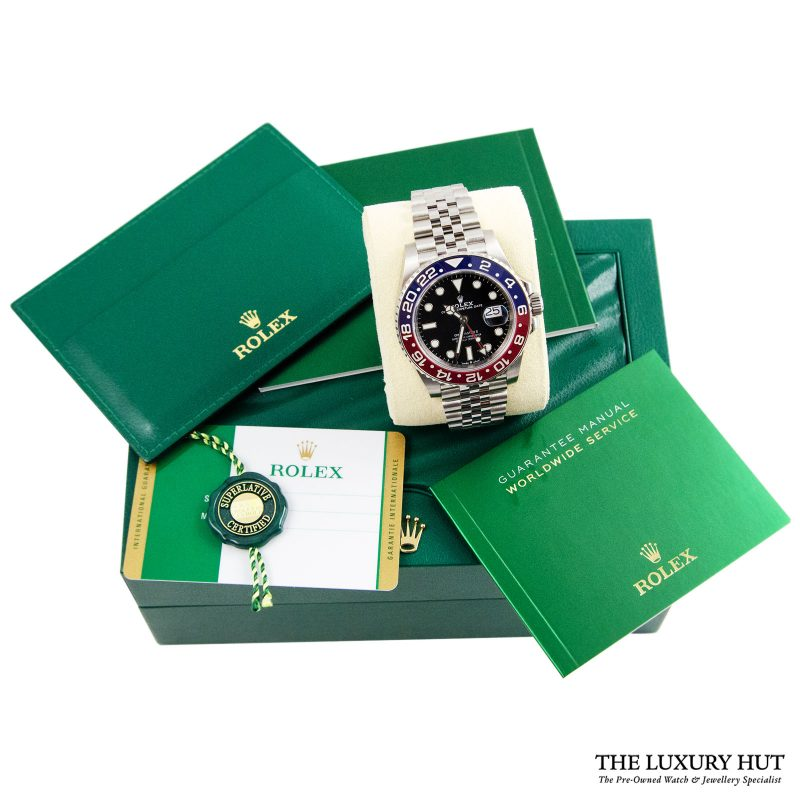 Rolex GMT Master 2 Pepsi Perpetual Ref: 12671BLRO - Order Online today delivery