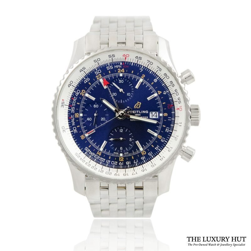 Breitling Navitimer 1 Chronograph GMT Watch Ref: A24322121C2P2 - Order Online today for next day delivery.