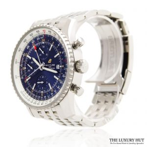 Breitling Navitimer 1 Chronograph GMT Watch Ref: A24322121C2P2 - Order Online today for next day