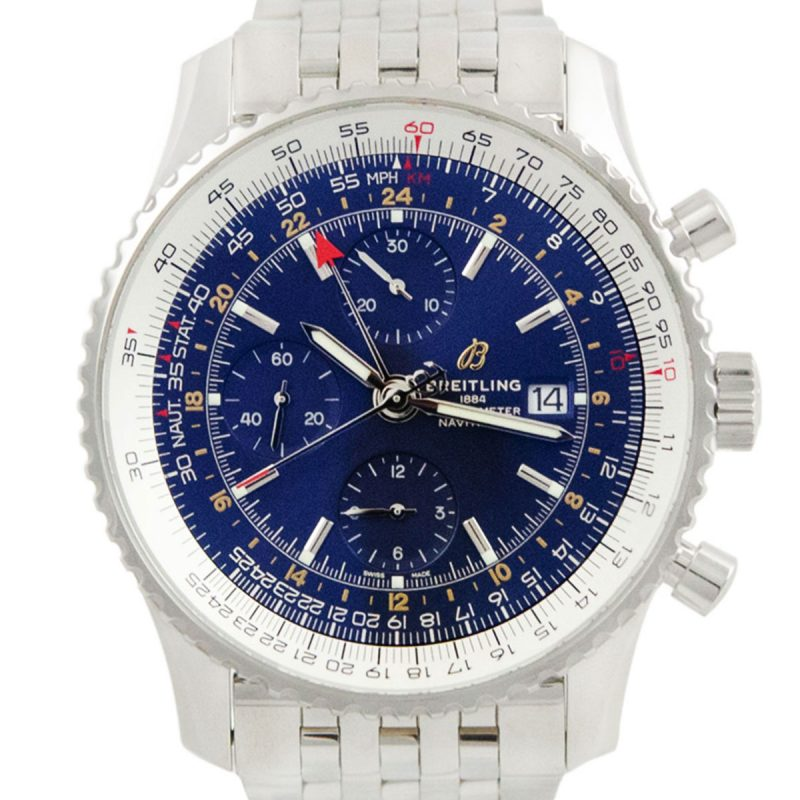 Breitling Navitimer 1 Chronograph GMT Watch Ref: A24322121C2P2 - Order Online today delivery.