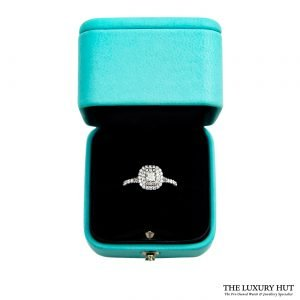 Tiffany Platinum & Diamond Soleste Double Row Ring Order Online