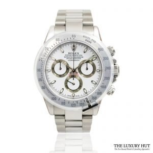 Rolex Daytona Steel 40mm Watch Ref: 116520 – 2004 Order Online today for next day delivery