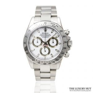 Rolex Daytona Steel 40mm Watch Ref: 116520