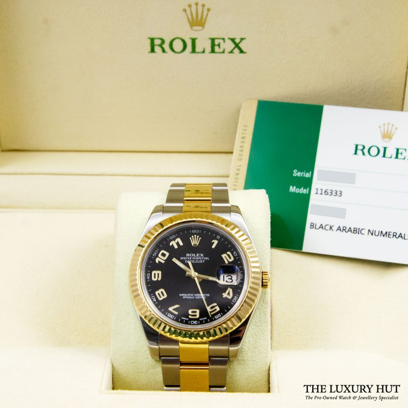 Rolex Datejust II 41mm Watch Ref: 116333 – 2016 Order Online today