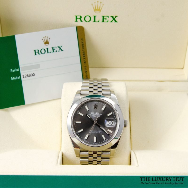 Rolex Datejust 41mm Watch Ref: 126300 – 2017