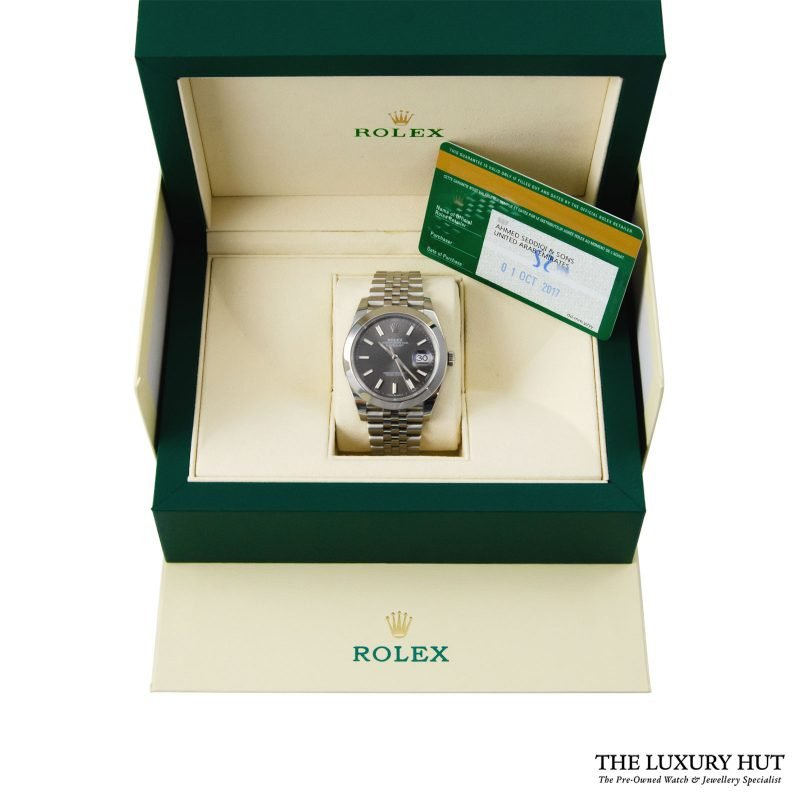 Rolex Datejust 41mm Watch Ref: 126300 – 2017 Order Online today delivery