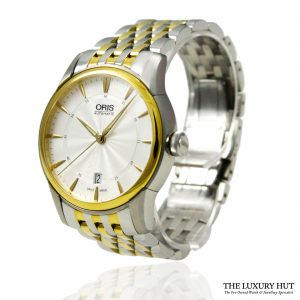 Oris Artelier Date Watch Ref: 01 733 7670 4351- 2016 Order Online today for next day