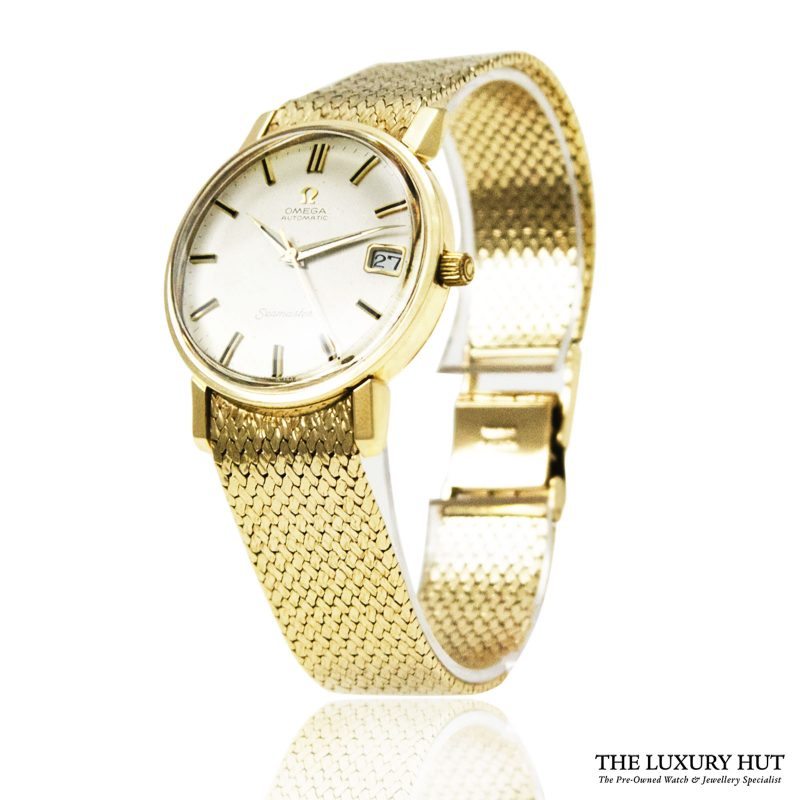 Omega Seamaster Vintage Automatic 9ct Gold Watch Order online today for next day delivery.