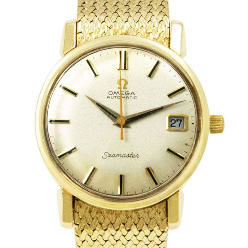 Omega Seamaster Vintage Automatic 9ct Gold Watch Order online today