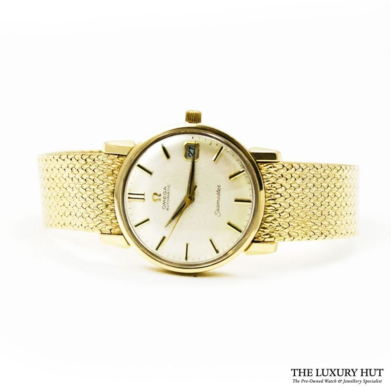 Omega Seamaster Vintage Automatic 9ct Gold Watch Order online today delivery.