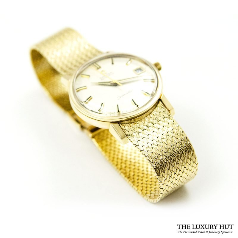 Omega Seamaster Vintage Automatic 9ct Gold Watch Order online