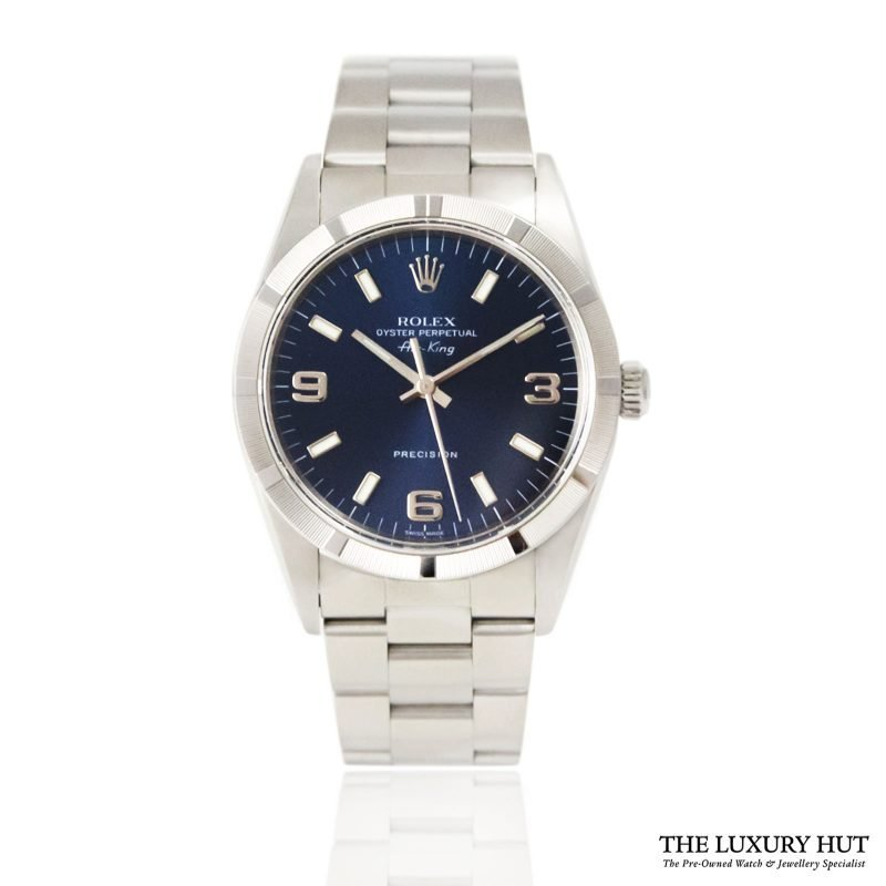 Rolex Air King Precision Blue Arabic Dial Ref 14010 Order online today for next day delivery